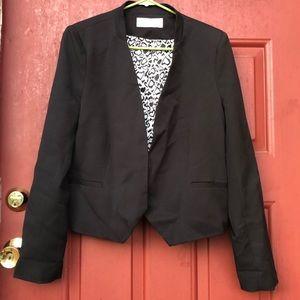 Jackets & Blazers - Front Open Black Blazer